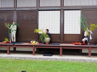 「いけばなの根源池坊展 大阪花展」に本学学生が出瓶しました!