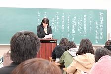【授業紹介】幼児保育学科 幼稚園教育実習報告会が行われました