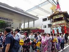 祇園祭協賛 池坊学園「花きらきら」に多数ご来場ありがとうございました!