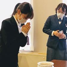 【授業紹介】ブライダルプランナーコース 葬儀マナーについて学びました!