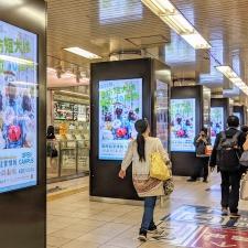 市営地下鉄を中心に、本学のポスターを掲示中です!