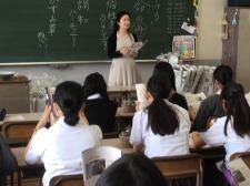 京都翔英高校にて出張授業を行いました!