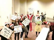 【授業紹介】いけばなと現代生活Ⅱ 大作自由花をグループで制作しました!